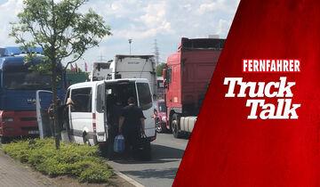 Folge 2 zum Truck Talk Podcast beschäftigt sich mit der Rückkehrpflicht