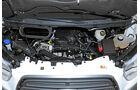 Ford Transit gegen Mercedes Sprinter, Diesel, Motor