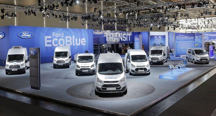 Ford setzt die Nutzfahrzeug-Erfolgsgeschichte im Geschäftsjahr