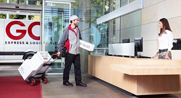 GO! Express & Logistics, Paketbote, Lieferdienst