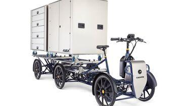 Gazelle, D10, E-Cargobike, Lastenrad