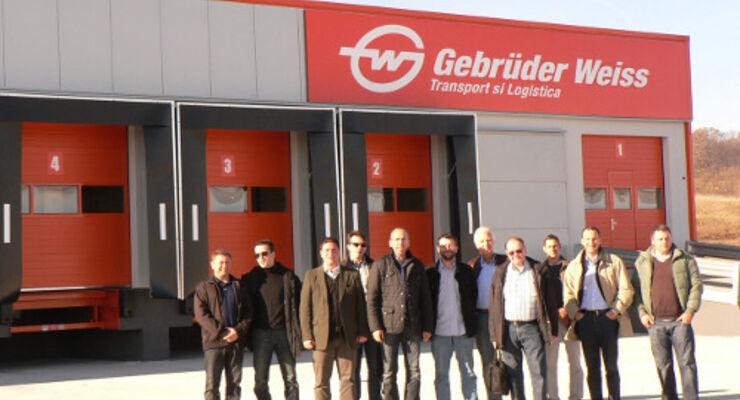 Gebrüder Weiss eröffnen Terminal in Rumänien