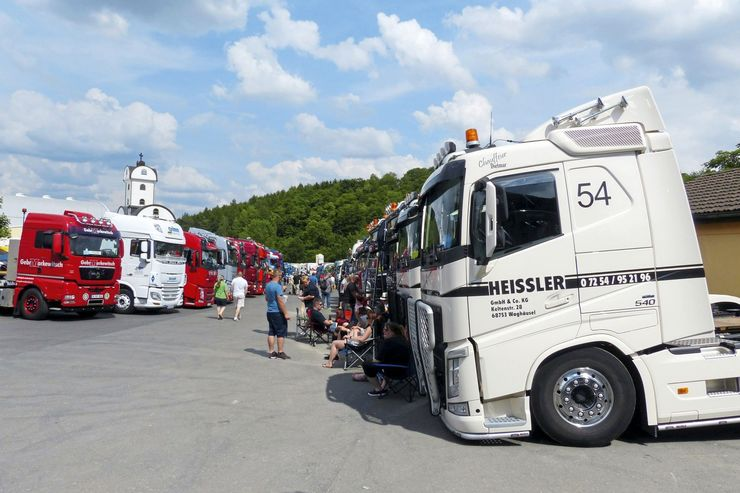 Geiselwind 2017, Festival, FF 8/2017, Supertrucks, Trucker- & Country.