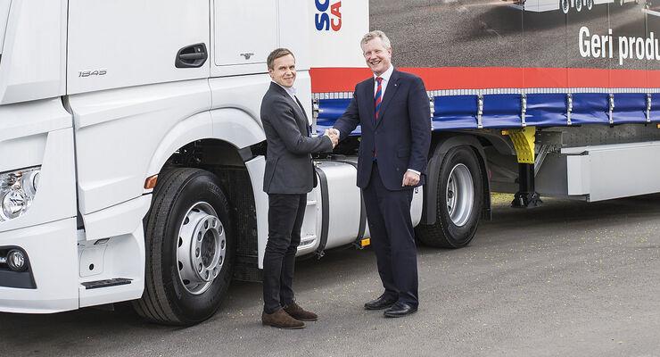 Girteka Logistics, eine der führenden europäischen Speditionsfirmen bestellt Trailer bei Schmitz Cargobull.