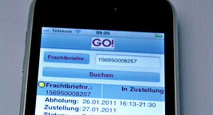 Go! bringt Tracking App