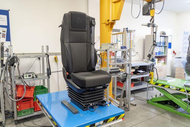 Grammer Sitzproduktion Roadtiger