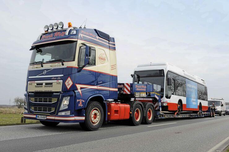 Großraumtransport Wulhorst Truck Job
