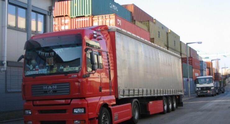 Güterverkehr im Jahr 2008 angestiegen