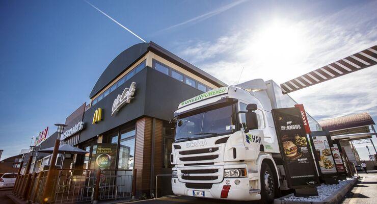 HAVI beliefert McDonald's-Filiale