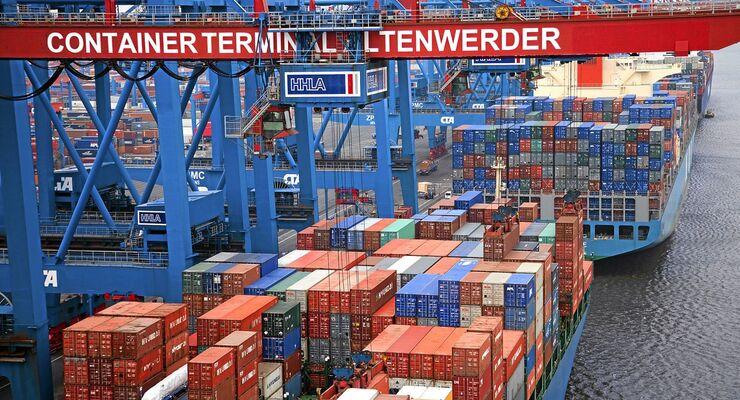 HHLA, Hamburg, Hafen, Container