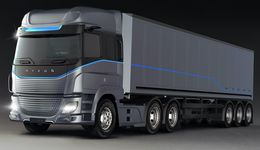 HYZON Motors Heavy Truck Front View