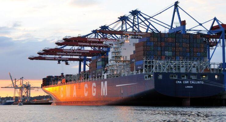 Hamburger Hafen, Container