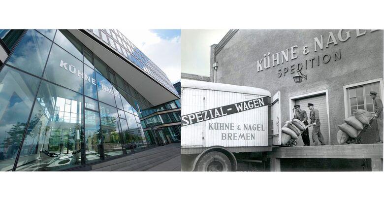 Hauptsitz in Hamburg und historisches Bild Bremen.