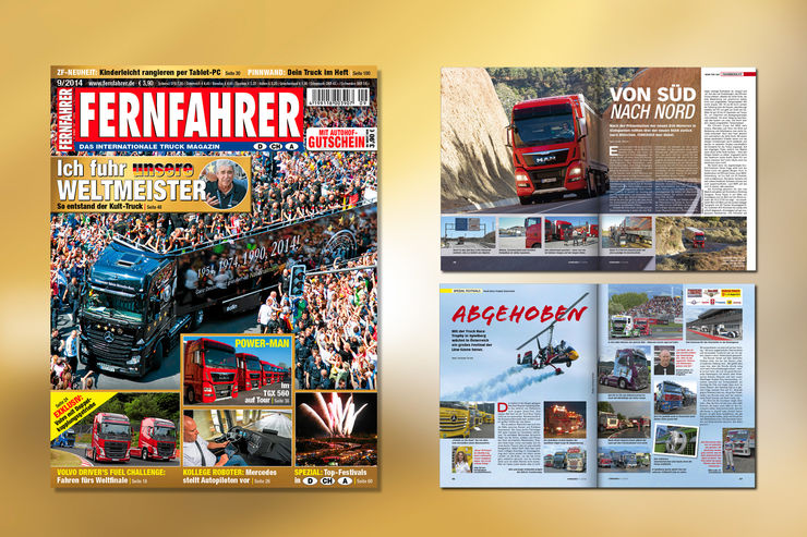 heft 9 2014 neue fernfahrer ausgabe am kiosk eurotransport. Black Bedroom Furniture Sets. Home Design Ideas