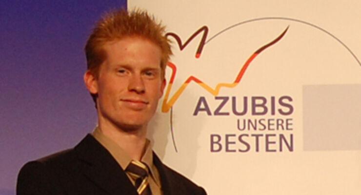 Hellmann-Azubi ist bester Kraftfahrer