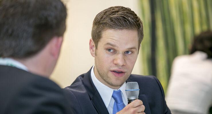 Henrik Bramlage, Projektleiter für nachhaltige Logistik bei Paneuropa Rösch