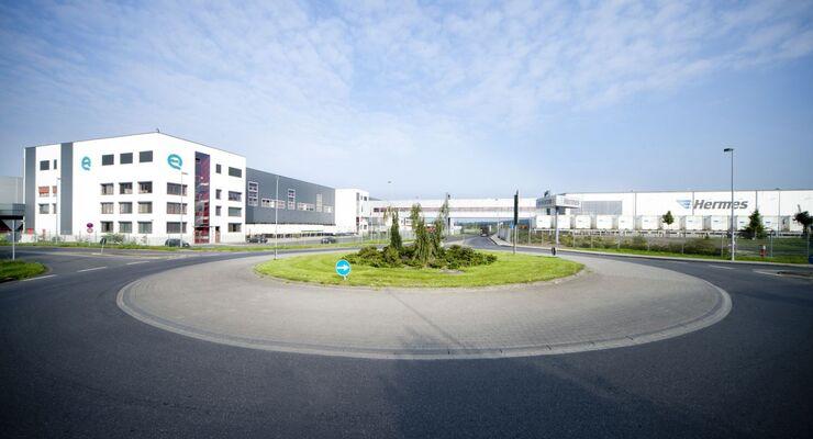 Hermes, QVC, Logistik