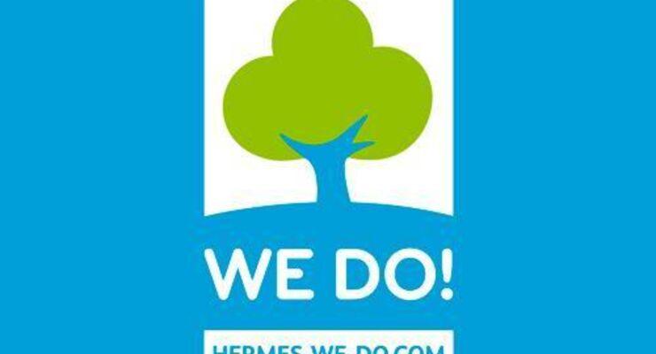 Hermes stellt Umweltlogo vor