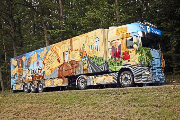 Herpa-Geschichtstruck, Supertruck FF 12/2017, Geschichte des Bieres, Herpa, Walter Rosner.
