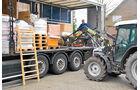 Hilfstransport in die Ukraine, Münsterland, Spenden, Ladefläche
