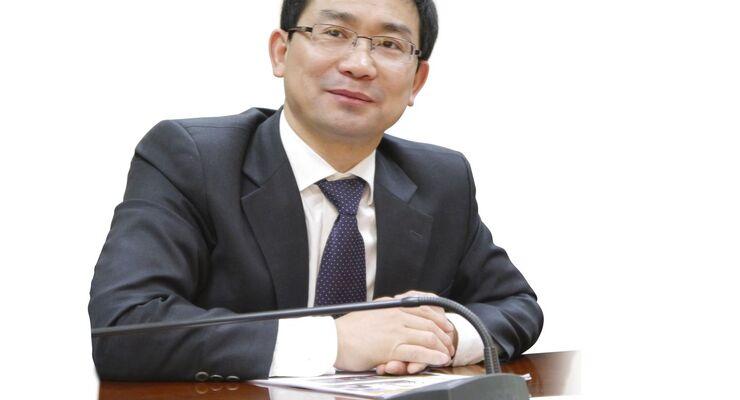 Huang Gang, Geschäftsführer von Dongfeng