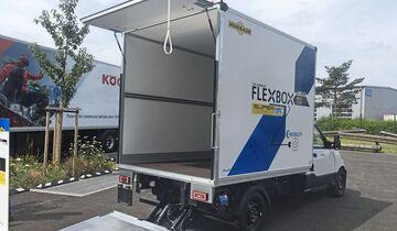 Humbaur IAA Vorschau 2018 Streetscooter Work L FlexBox