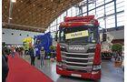 Hybrid-Oberleitungs-Scania, Feldversuch, Exponat NUFAM 2019.