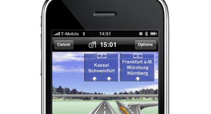 I-Phone kommt mit Navi-Software