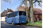 INDCAR NEXT L9 auf DAF Chassis, Heckanicht, Probus Event in Wagenfeld, April 2018, verwendet für Bus Newsletter am 18.04.2018