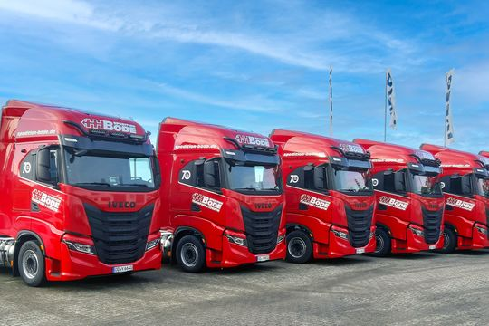 Iveco S-Way NP bei Spedition Bode