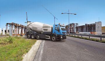 Iveco Stralis CNG Erdgas Betonmischer Bauma 2019