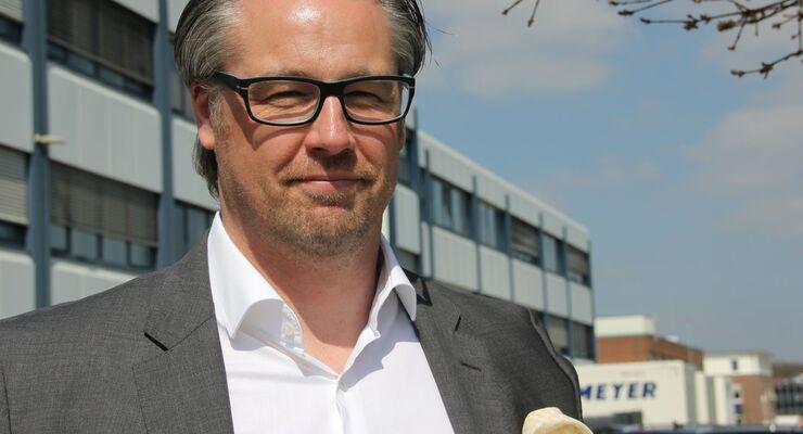 Jan Weber Geschäftsführer Meyer & Meyer Textillogistik Osnabrück