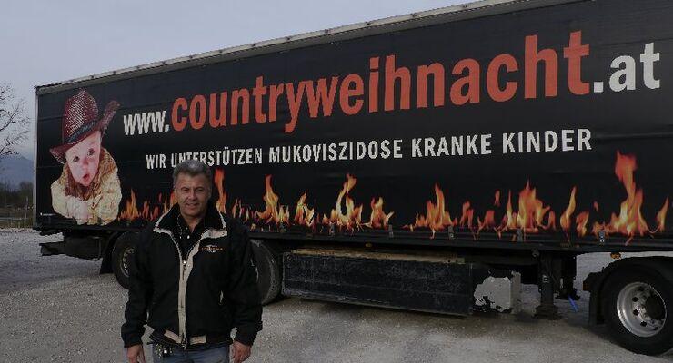 Joachim Sonnendörfer - der Veranstalter der Country Weihnacht in Kufstein