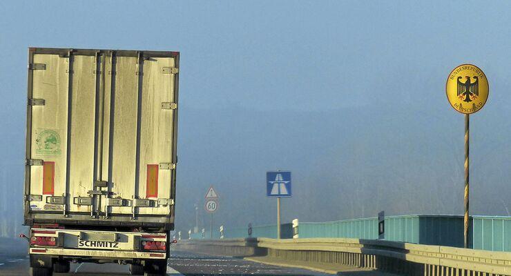 Kabotage deutsch-polnische Grenze
