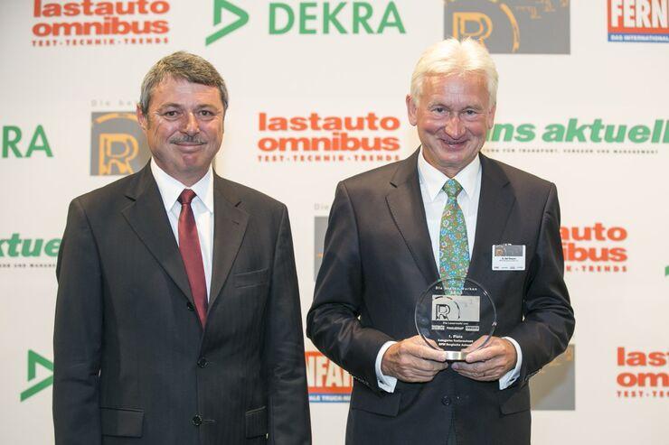 Kategorie Trailerachsen: Thomas Paul Göttl, Dr. Bert Brauers, BPW Bergische Achsen