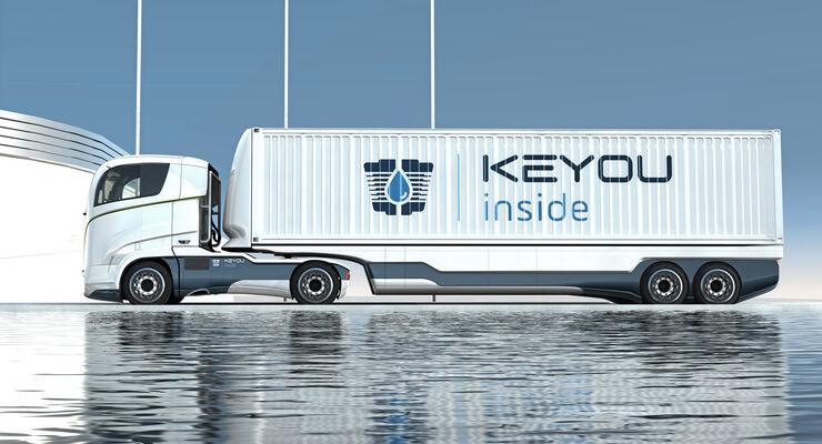 Keyou Prototyp 40-Tonner