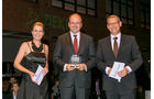 Kipper, v. li.: Alexandra von Lingen, Dr. Daniel Böhmer, F.X. Meiller Fahrzeug- und Maschinenfabrik, Oliver Trost