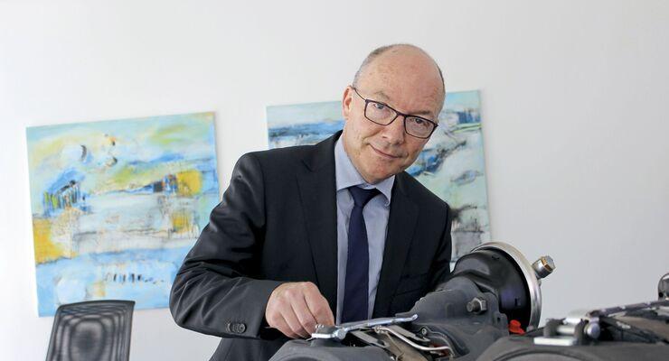 Knorr-Bremse Scheibenbremse IAA Nutzfahrzeuge 2018 NEXTT Synact axial acr Dr. Laier