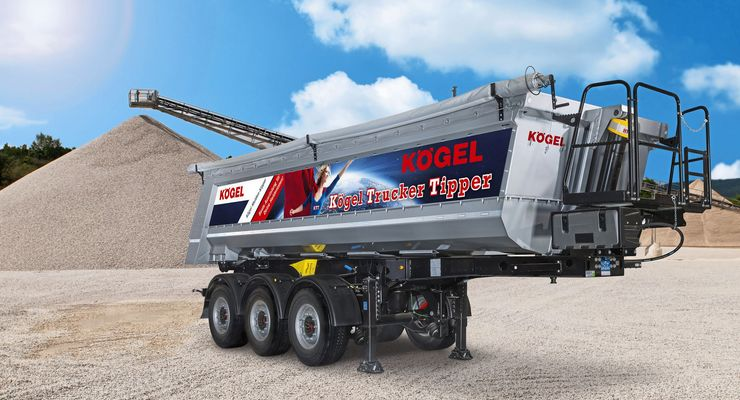 Kögel Trucker Tipper, KTT, Bauma 2019