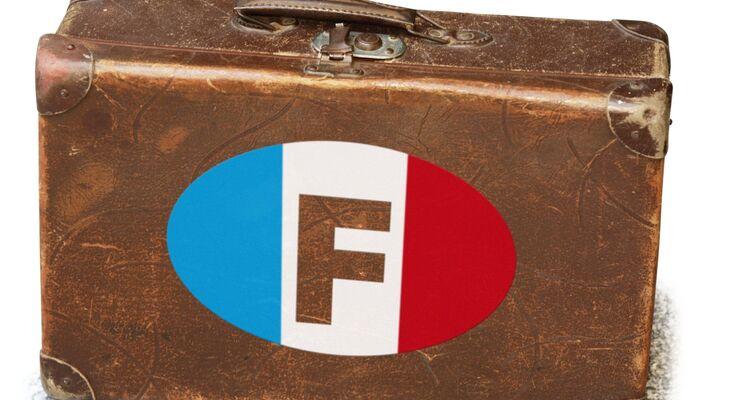 Koffer, Frankreich