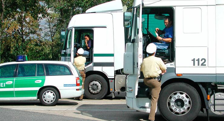 Kontrolle: Bereitschaftspolizei Göppingen