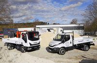 Konzeptvergleich Iveco Daily Iveco Eurocargo 80-210 Kipper