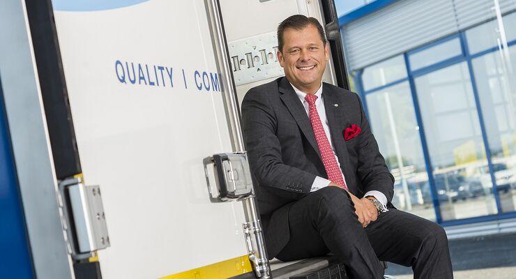 Krone erweitert die Geschäftsführung. Ingo Geerdes ist neuer Geschäftsführer für den Bereich Key-Account-Management.