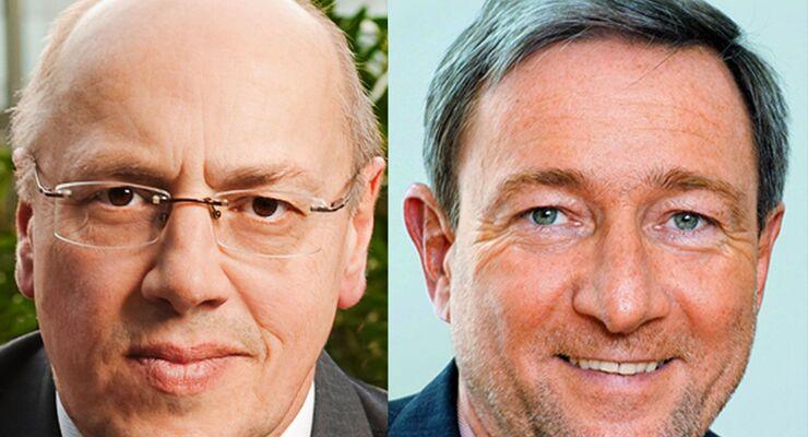 Kurt Bodewig, Walter Eichendorf, Vize- und Präsident DVR
