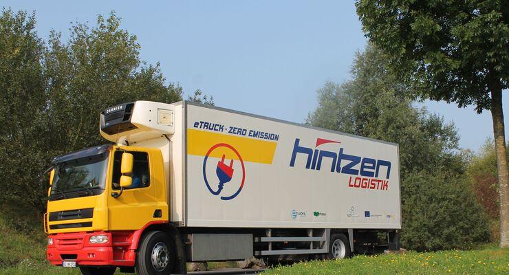 LE-Lkw von Hintzen Logistik
