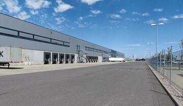 LGI Logistikzentrum Halle Panasonic Erfurt Rampe