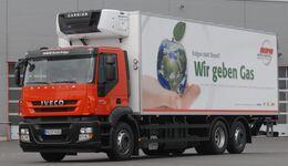 LNG-Lkw von Meyer Logistik