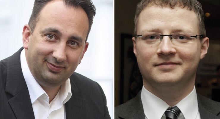 LVSA: Tobias Hinze (links) folgt auf Matthias Schollmeyer