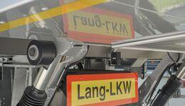 Lang-Lkw, Schild