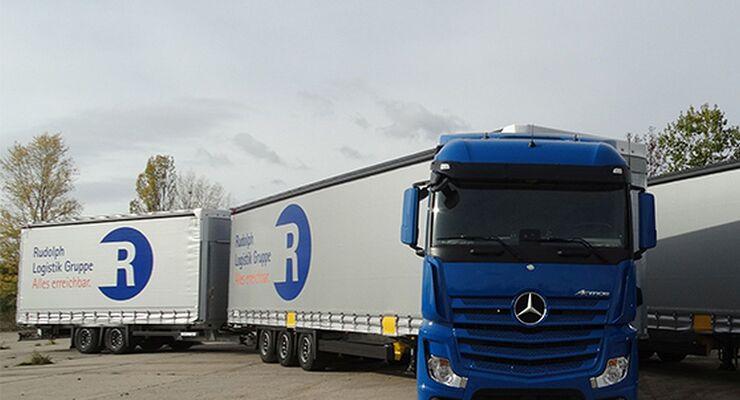 Lang-Lkw der Rudolph Logistik Gruppe